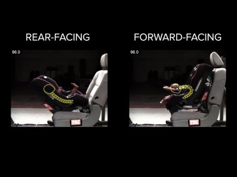 Rear-facing vs. Forward-facing