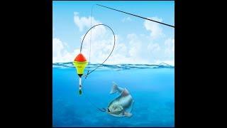 Удочка которая сама подсекает рыбу