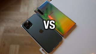 iPhone 11 Pro vs Samsung Galaxy Note 10 - Which is the REAL Pro?!