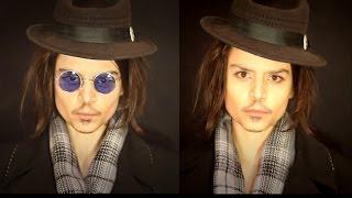 MW Как Быть Джонни Деппом :) Johnny Depp Makeup Transformation Джонни Депп Макияж Maria Way