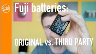 Are third party Fujifilm Batteries any good? Better stick to the Original?