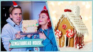 WE MADE A GINGERBREAD HOUSE!