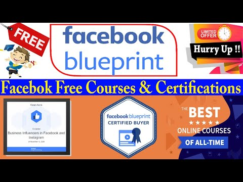 Facebook Free Online Courses with Certificate - Blueprint e-learning ...