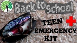 BACK TO SCHOOL EMERGENCY KIT 2019 /DOLLAR TREE ITEMS