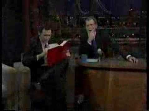 David Letterman interviews Norm MacDonald on the day Norm is fired from SNL