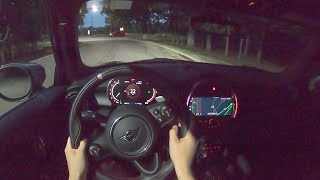 [WR Magazine] 2021 Mini John Cooper Works GP - POV Night Drive (Binaural Audio)