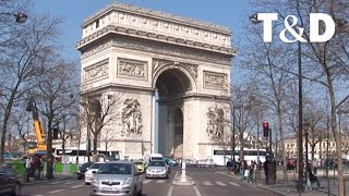 preview picture of video 'Paris: Die Avenue des Champs-Élysées'