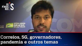 Exclusivo: Ministro Fábio Faria participa de Os Pingos nos Is