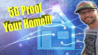 How To 5G Proof YOUR HOUSE!!! This Is Next Level EMF PROTECTION!