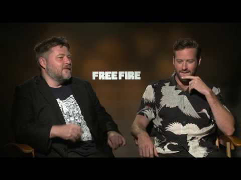 Armie Hammer & Ben Wheatley Free Fire Raw Interview