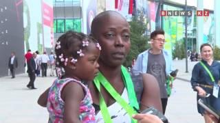 Что говорят туристы о выставке ЭКСПО в Астане