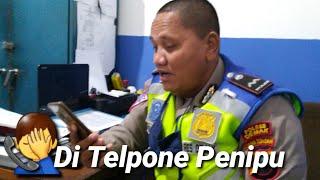 Polisi di telpon penipu Alhasil 3 menit Bikin Ketawa...