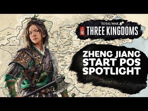Zheng Jiang Start Position Spotlight - Total War: THREE KINGDOMS