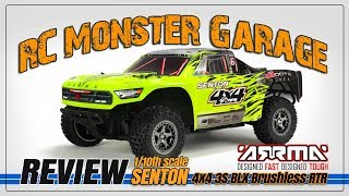 Review: SENTON 4x4 3S BLX Brushless SCT RTR by RC Monster Garage
