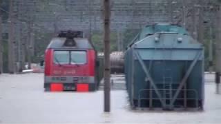 ДОНЧАК 068 и наводнение на ст.Туапсе-грузовая