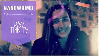 NaNoWriMo 2017 - Day 30