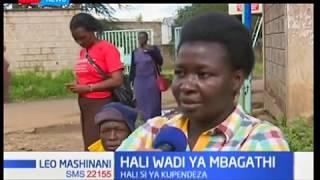 Hali duni katika wadi ya akina mama ya kujifungua katika hospitali ya Mbagathi