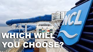 Norwegian Bliss Cabins: Tours of Nine Different Rooms