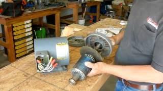 Replacing Motor Bearings