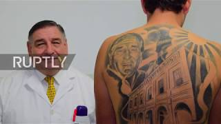 Cancer Survivor Gets Massive Tattoo Of Doctor Who Cured Him