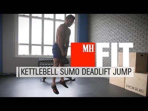 Kettlebell Deadlift Jumps