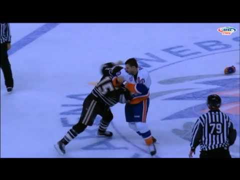 Blair Riley vs. Matthew Clackson