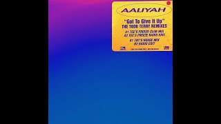 """AALIYAH - GOT TO GIVE IT UP (12"""" PROMO)"""