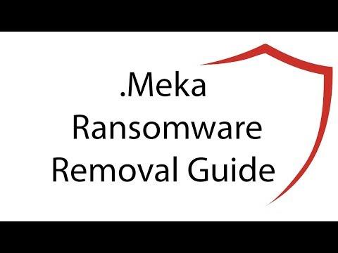 .Meka Virus File Ransomware Removal Guide