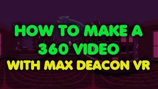 HOW TO MAKE A 360 VIDEO in Blender 3d and BGE