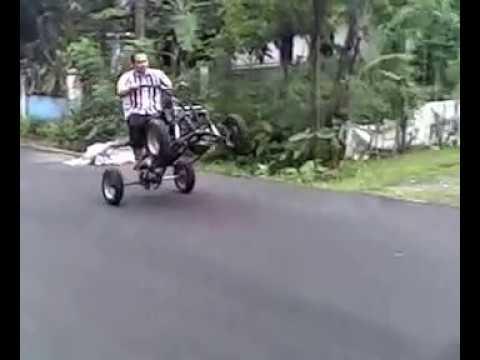 """Video UJI COBA ATV 135 cc BUATAN """"ATV KOEMIS POETIH PRODUCTION"""""""