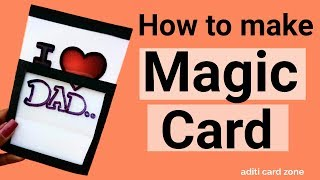 Magic Card Easy Tutorial | Diy Greeting Card Ideas | Friendship Day Card |