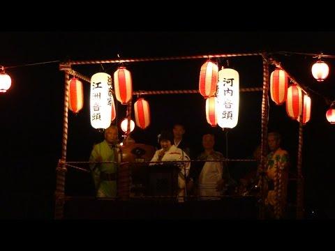 納涼盆踊り大会 (守口市立 さつき小学校校庭 2014年7月27日開催)