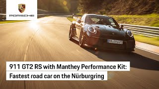 911 GT2 RS with Manthey Performance Kit Sets Nürburgring Record