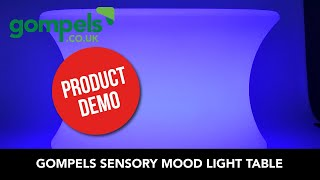 Product Demo  - Sensory Mood Light Table