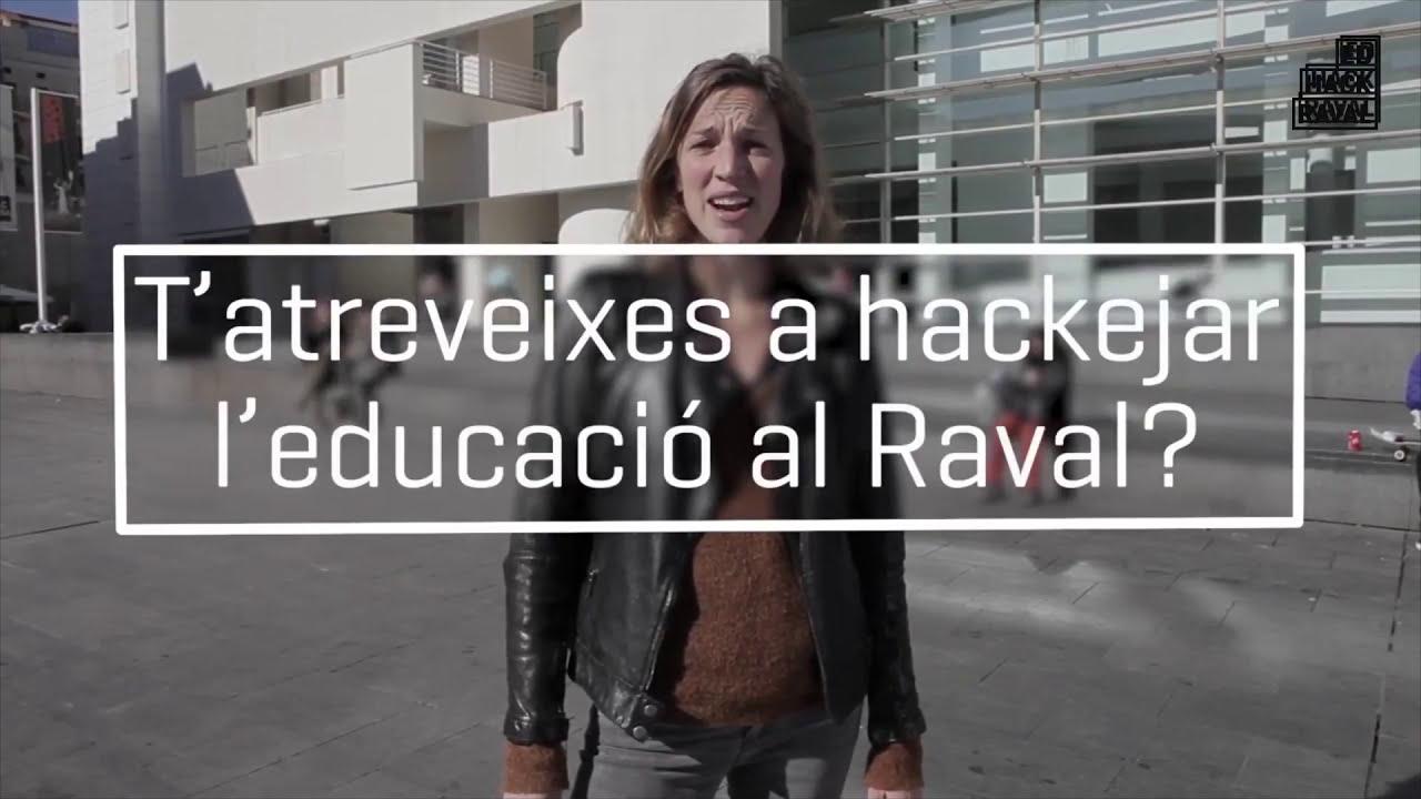 Neix l'EDhack Raval! - Acte de presentació a l'INS Milà i Fontanals