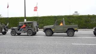 preview picture of video 'Del 2 af 2. Dansk Militærhistorisk Køretøjs-Forening. Kortege fra Amager til København.'