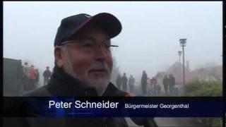 preview picture of video 'Straße zwischen Schönau und Georgenthal freigegeben'