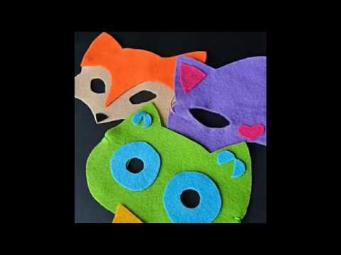 Video v článku DIY masky na dětskou párty