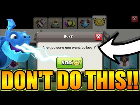 WILL I REGRET DOING THIS IN CLASH OF CLANS?
