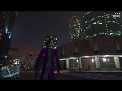 GTA 5 Dark Knight Joker