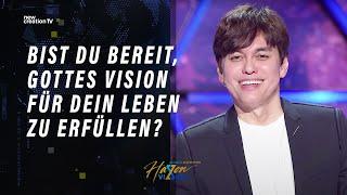 Bist du bereit, Gottes Vision für dein Leben zu erfüllen? – Joseph Prince I New Creation TV Deutsch