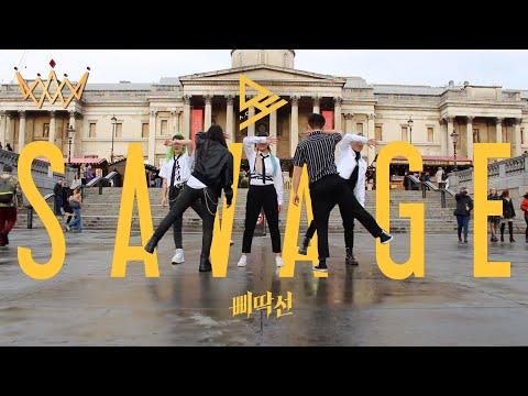 [KPOP IN PUBLIC] A.C.E (에이스) - SAVAGE (삐딱선) Dance Cover [UJJN ft Chan] | LONDON