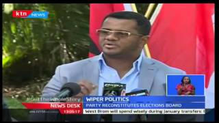 Wiper Democratic Party announces officials who will take charge of party elections