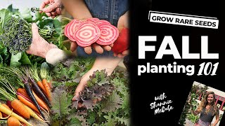 FALL GARDENING HOW-TO | Fall Planting 101