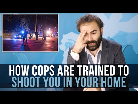 How Cops Are Trained To Shoot You In Your Home - SOME MORE NEWS