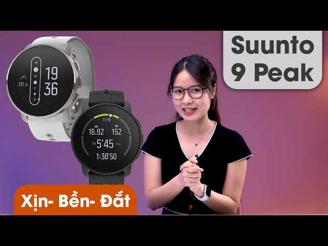 Không phải Apple Watch hay Galaxy Watch mà đây mới là chiếc Smartwatch Đỉnh Chóp!