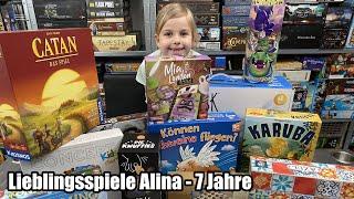 Lieblingsspiele von Alina 7 Jahre (Kinderspiele und Familienspiele)