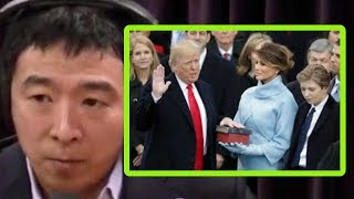 Donald Trump's Election Was Really About Economics   Joe Rogan and Andrew Yang