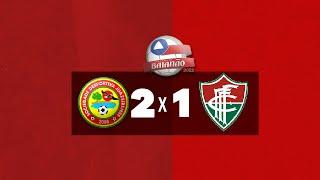 Imagem do vídeo Gols - Juazeirense 2 x 1 Fluminense