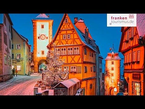 Rothenburg ob der Tauber - Ein fränkisches Wintermärchen